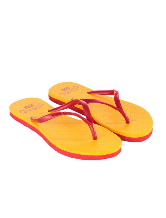 Chinelo-Calvin-Klein-Jeans-Copa-Amarelo-Ouro