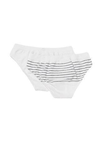 Calcinha-Boneca-Sem-Costura-Infantil-Calvin-Klein-Underwear-Branco