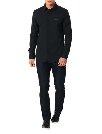 Camisa-Calvin-Klein-Jeans-Logo-Ckj-Preto
