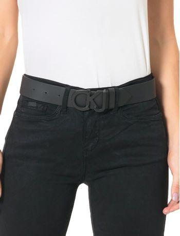 Cinto-Couro-Fivela-Calvin-Klein-Jeans-Preto