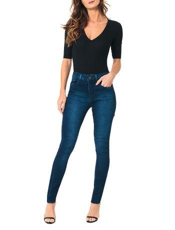 Body-Calvin-Klein-Jeans-Decote-V-Preto