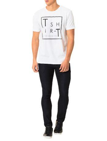 Camiseta-Calvin-Klein-Jeans-Estampa-Branco