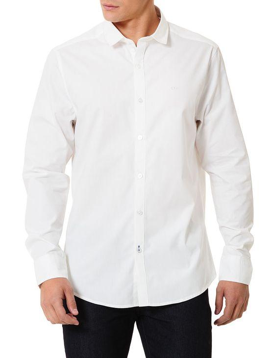 Camisa-Calvin-Klein-Jeans-Logo-Calvin-Klein-Jeans-Branco
