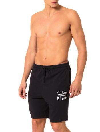 Bermuda-Calvin-Klein-Underwear-De-Cotton-Preto
