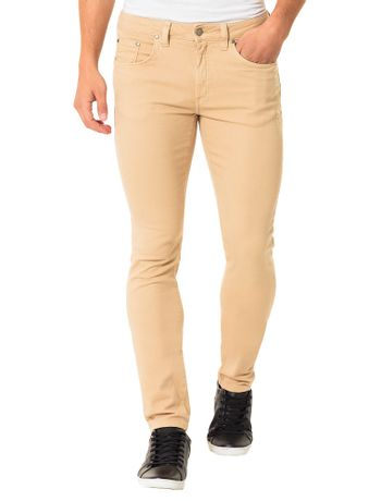 Calca-Color-Calvin-Klein-Jeans-Five-Pockets-Skinny-Caqui-Claro
