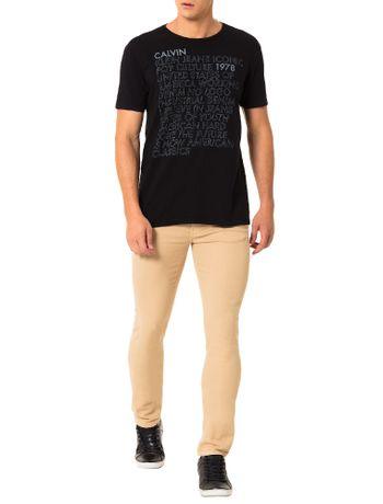 Camiseta-Calvin-Klein-Jeans-Estampa-Escritos-Preto