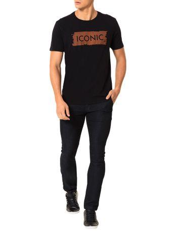 Camiseta-Calvin-Klein-Jeans-Estampa-Pincelada-Iconic-Preto