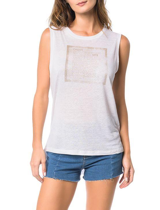 Blusa-Calvin-Klein-Jeans-Com-Estampa-Frontal-Off-White