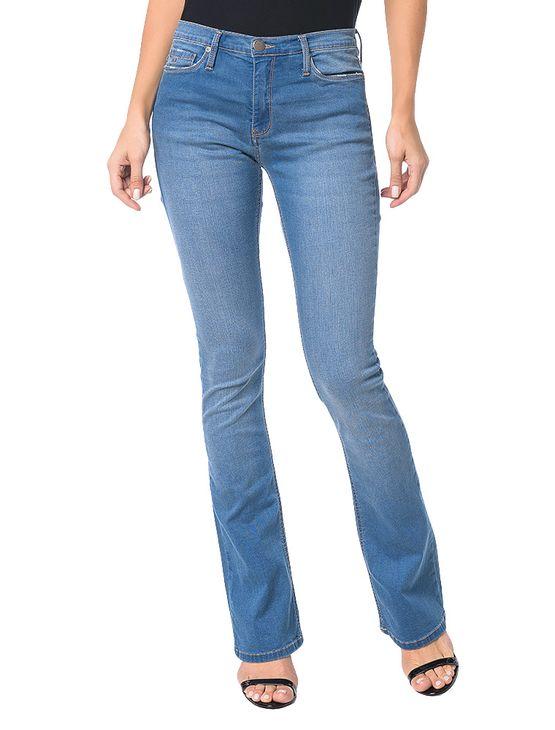 Calca-Calvin-Klein-Jeans-Five-Pockets-RCKR-Kick-Azul-Medio