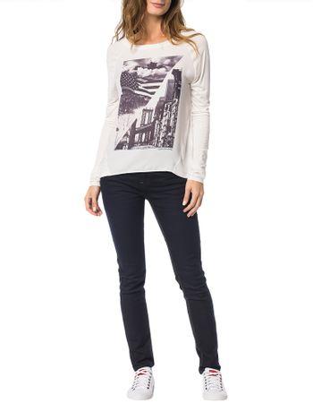 Blusa-Calvin-Klein-Jeans-Frente-Estampa-Off-White