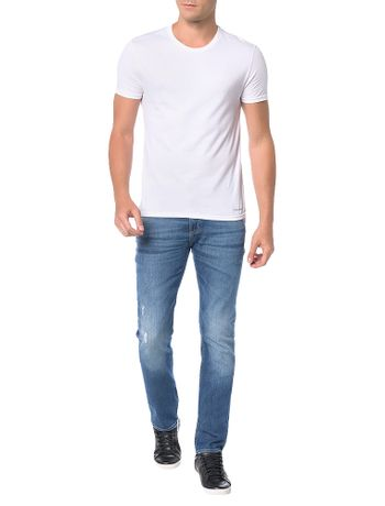 Calca-Calvin-Klein-Jeans-Five-Pockets-Slim-Straight-Azul-Marinho