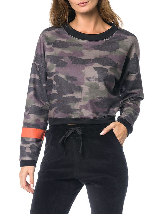 Casaco-Moletom-Calvin-Klein-Jeans-Estampa-Camuflado-Preto