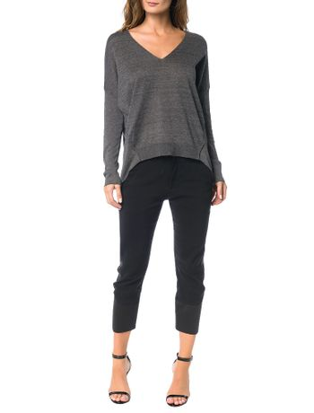 Tricot-Calvin-Klein-Jeans-Frente-Lurex-Mescla