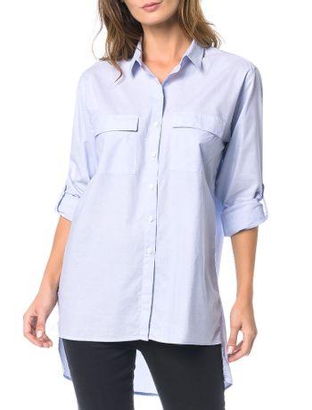Camisa-Calvin-Klein-Jeans-Vazado-Costas-Azul-Claro