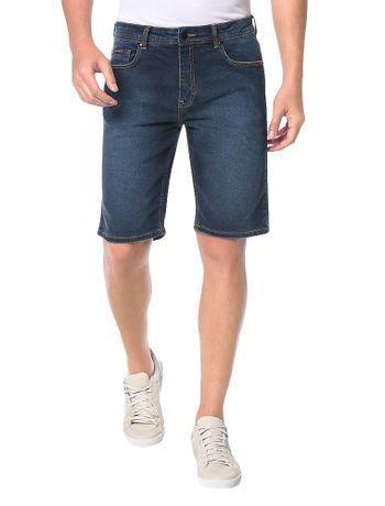 Bermuda-Calvin-Klein-Jeans-Five-Pockets-Azul-Marinho