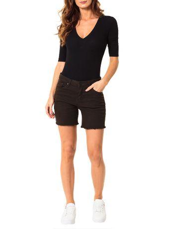 Bermuda-Color-Calvin-Klein-Jeans-Five-Pockets-Militar