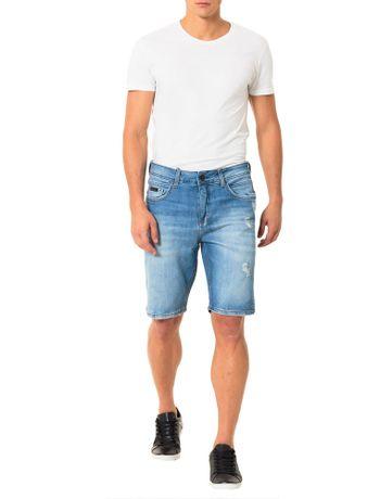 Bermuda-Calvin-Klein-Jeans-5-Pockets-Azul-Medio