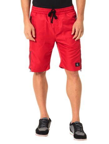 Bermuda-Calvin-Klein-Jeans-Listra-Ziper-Vermelho