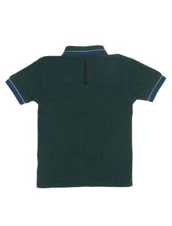 Polo-Infantil-Calvin-Klein-Jeans-Listras-E-Logo-Peito-Floresta