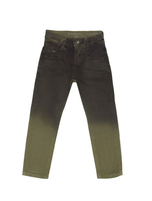 Calça Color Infantil Calvin Klein Jeans Degradê Militar