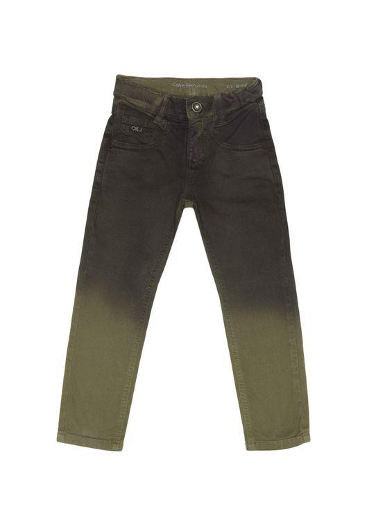 Calca-Color-Infantil-Calvin-Klein-Jeans-Degrade-Militar