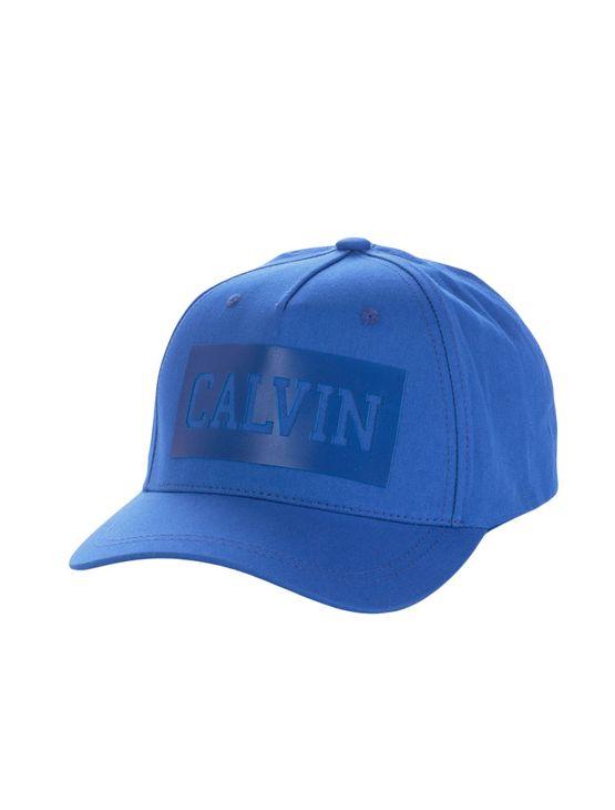 Bone-Calvin-Klein-Jeans-College-Relevo-Azul-Carbono