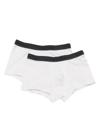Kit-2-Cuecas-Low-Rise-Trunk-Calvin-Klein-Underwear-Branco