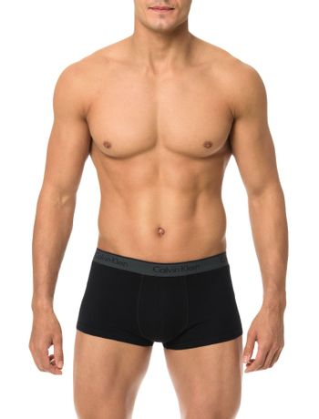 Kit-2-Cuecas-Low-Rise-Trunk-Calvin-Klein-Underwear-Preto