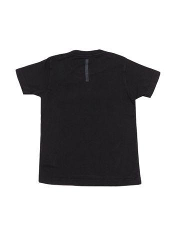 Camiseta-Infantil-Calvin-Klein-Jeans-Estampa-E-Jato-Frontal-Preto