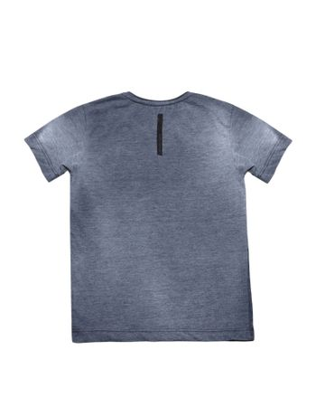 Camiseta-Infantil-Calvin-Klein-Jeans-Devote-E-Estampa-Marinho