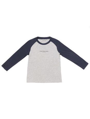 Camiseta-Infantil-Calvin-Klein-Jeans-Raglan-E-Institucional-Mescla