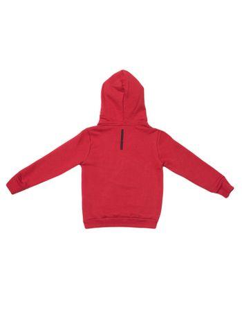 Casaco-Moletom-Infantil-Calvin-Klein-Jeans-Capuz-Logo-Baixo-Relevo-Vermelho