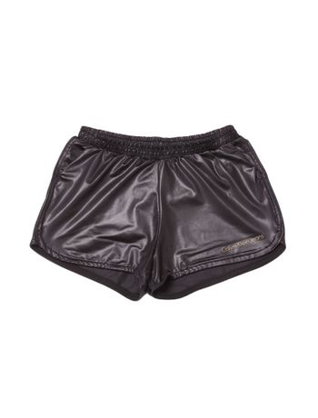 Shorts-Saia-Infantil-Calvin-Klein-Jeans-Color-Five-Pockets-Preto
