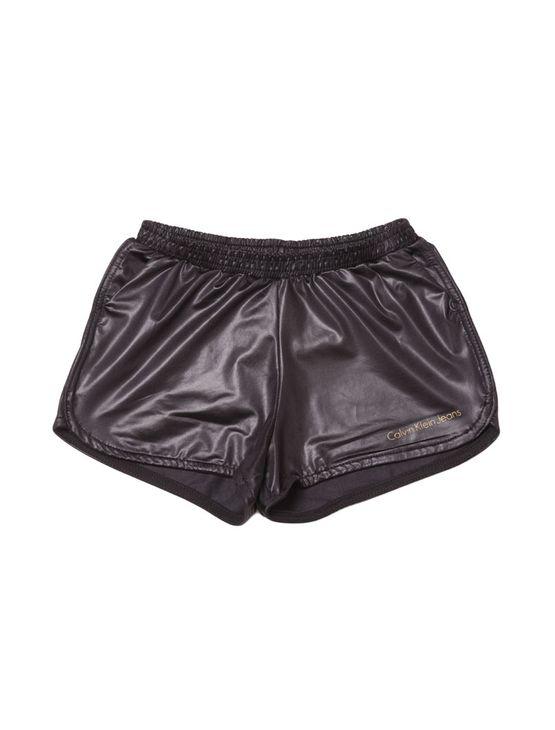 Shorts-Saia-Infantil-Calvin-Klein-Jeans-Color-Five-Pockets-Preto