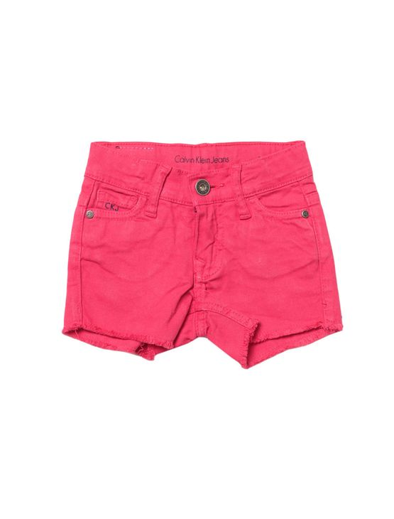 Shorts-Infantil-Calvin-Klein-Jeans-Color-Five-Pockets-Rosa-Escuro