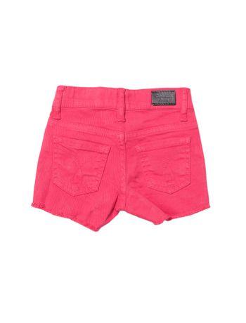 Shorts-Infantil-Calvin-Klein-Jeans-Color-Five-Pockets-Rosa-Escuro