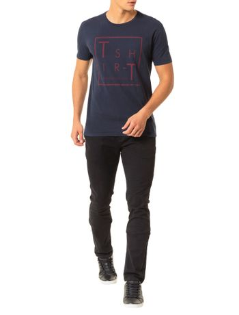 Camiseta-Calvin-Klein-Jeans-Estampa-Marinho
