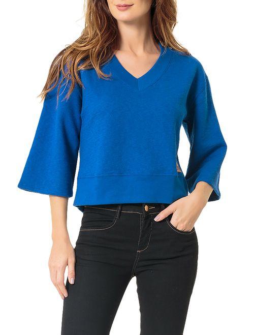 Blusa Calvin Klein Jeans 1978 Costas Azul Carbono