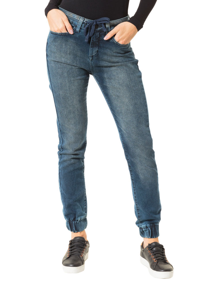cfb51f0d3 Calça Calvin Klein Jeans Slouchy Skinny Marinho - Calvin Klein