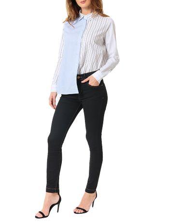 Camisa-Calvin-Klein-Listrada-Exclusiva-Azul-Claro