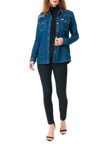 Jaqueta-Calvin-Klein-Jeans-Azul-Medio