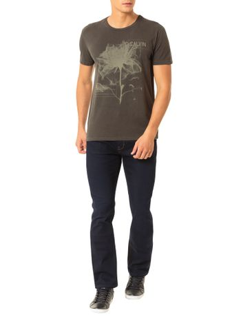 Camiseta-Calvin-Klein-Jeans-Estampa-Flor-Militar