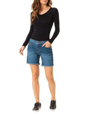 Bermuda-Calvin-Klein-Jeans-Five-Pockets-Azul