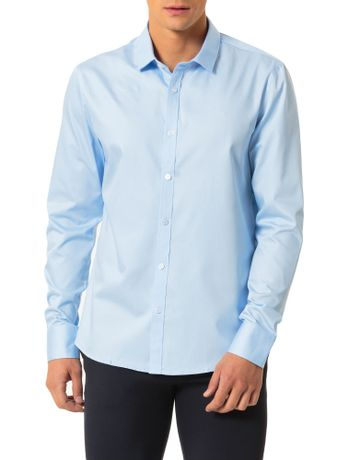 Camisa-Slim-Calvin-Klein-Cannes-Peach-Touch-Azul-Bebe