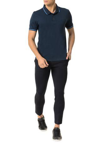 Polo-Calvin-Klein-Jeans-Recortes-Logo-Em-Relevo-Marinho