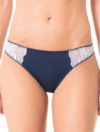 Calcinha-Tanga-Calvin-Klein-Underwear-De-Micro-Com-Renda-Marinho