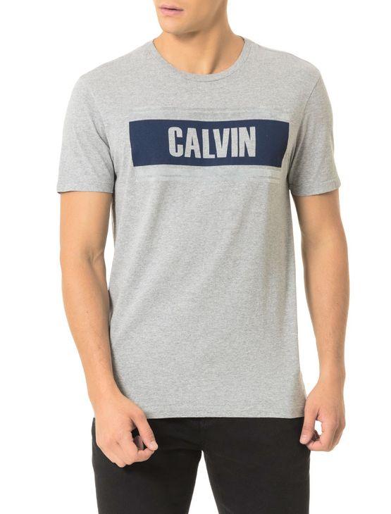 Camiseta-Calvin-Klein-Jeans-Estampa-Calvin-Listras-Mescla
