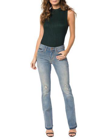 Calca-Calvin-Klein-Jeans-Five-Pockets-Slim-Flare-Azul-Claro