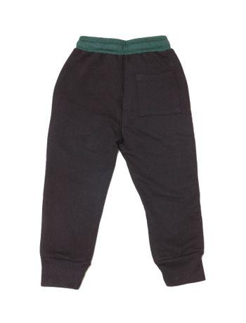 Calca-Moletom-Infantil-Calvin-Klein-Jeans-Logo-Baixo-Relevo-Preto