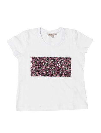 Blusa-Infantil-Calvin-Klein-Jeans-Paetes-Branco